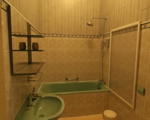 Salle de bain chambre bananier