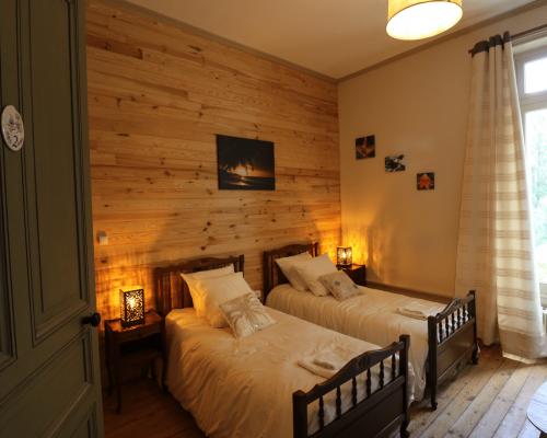 Suite familiale lits simples